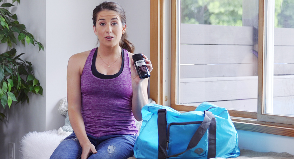 How to Pack an All-Natural Gym Bag