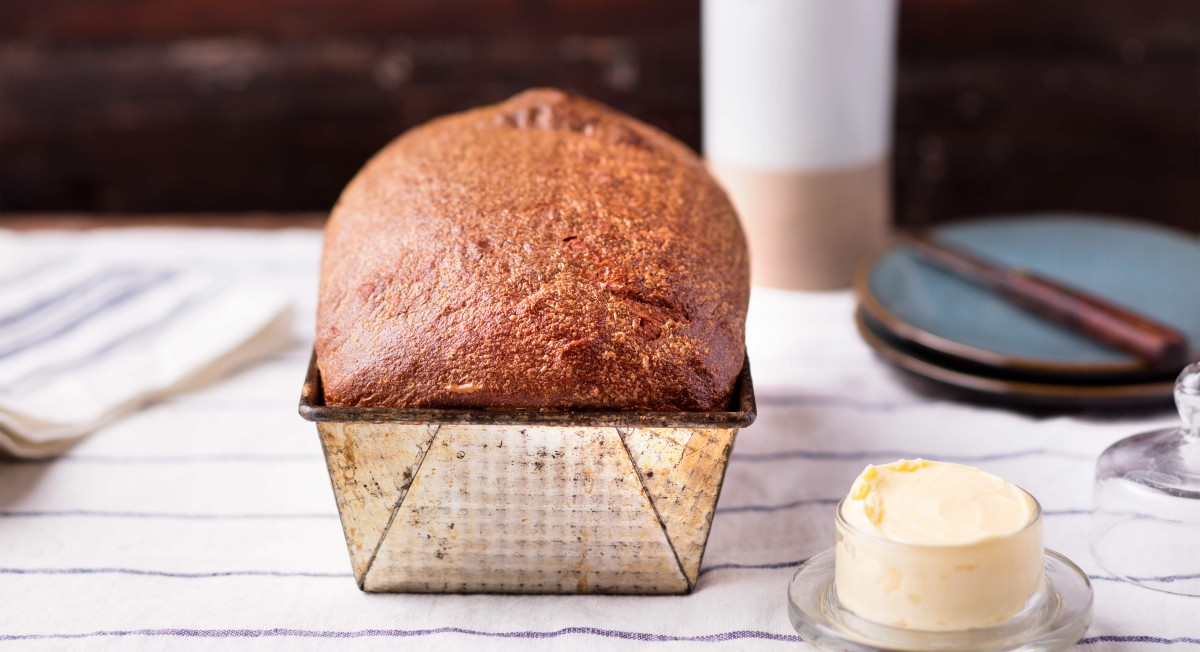 Honey-wheat bread