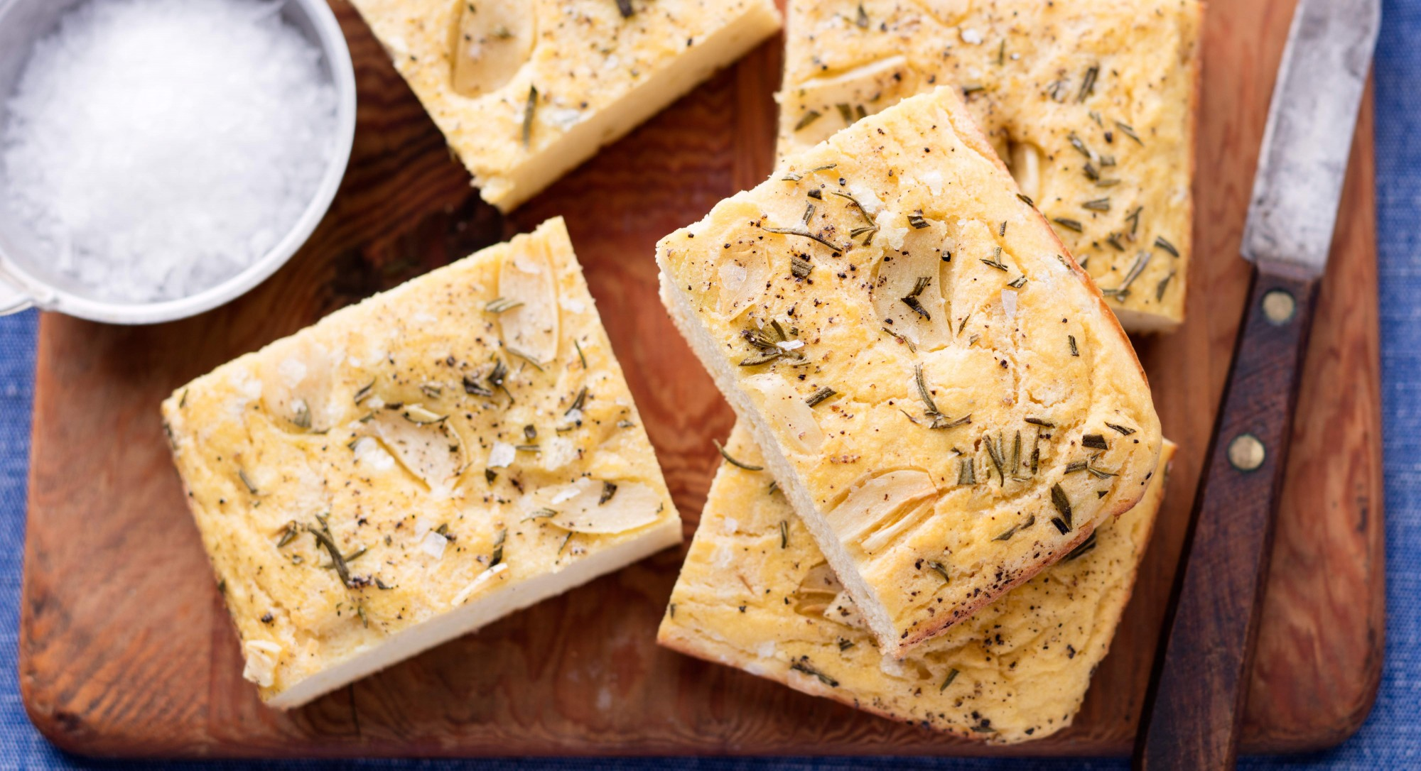 Paleo Garlic-Rosemary Focaccia Recipe