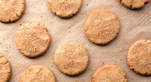 Sprouted Peanut Butter Cookies Recipe