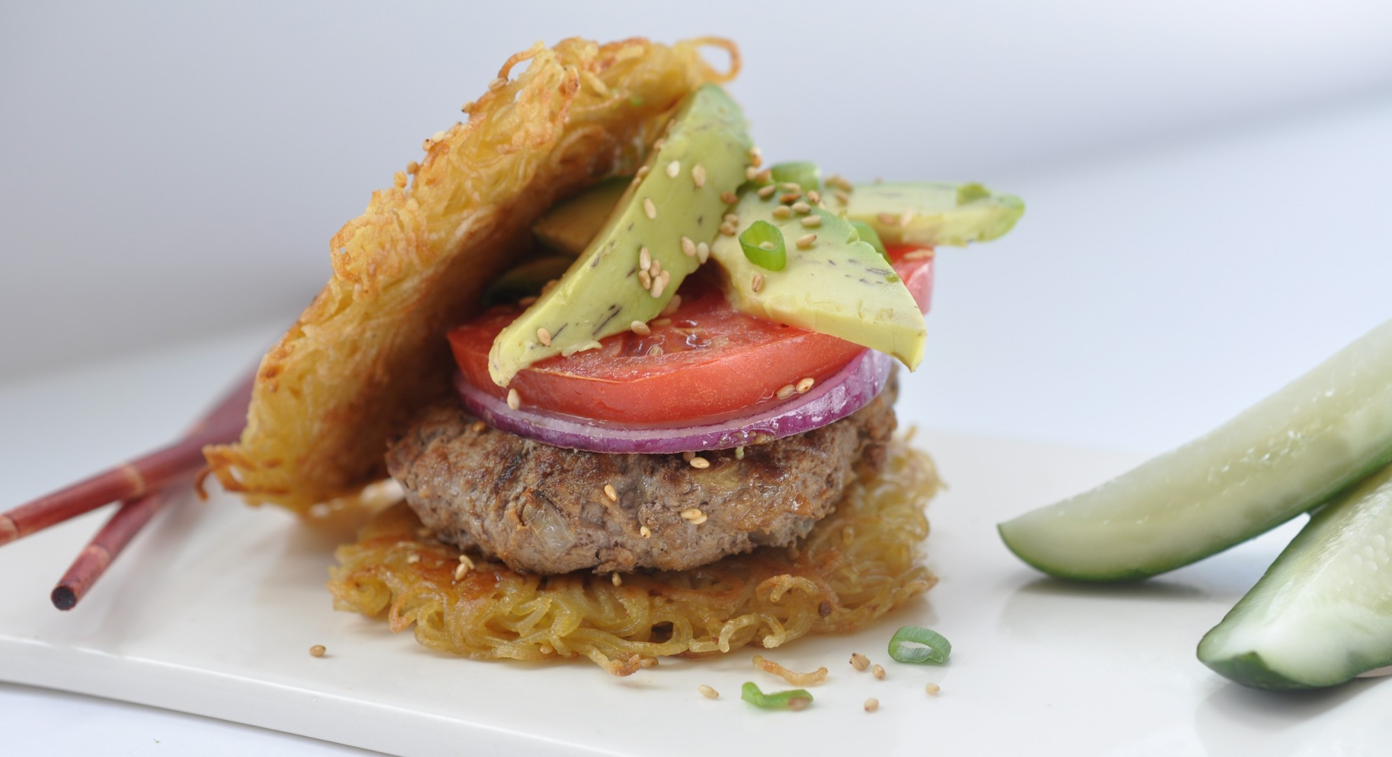 How to Make Your Own Gluten-Free (and Instagram-Worthy!) Ramen Burger