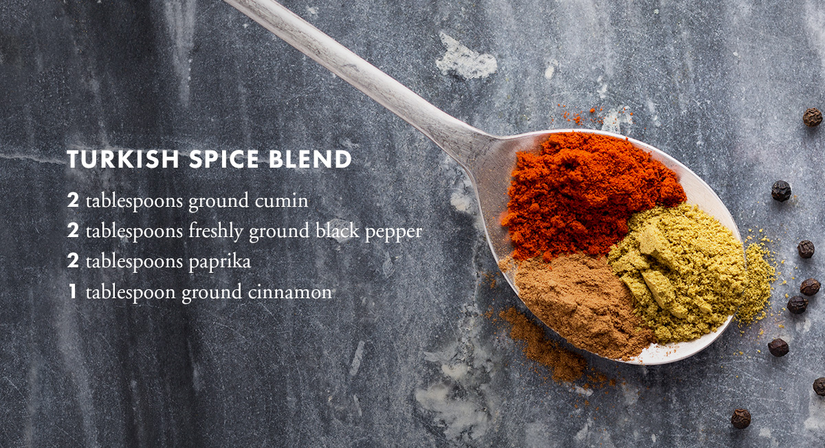 Turkish spice blend
