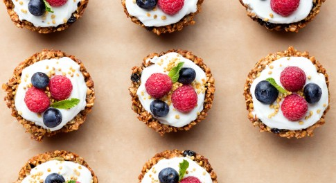 Granola Yogurt Tarts Recipe