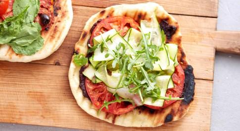 Grilled Vegan Pizza Recipe