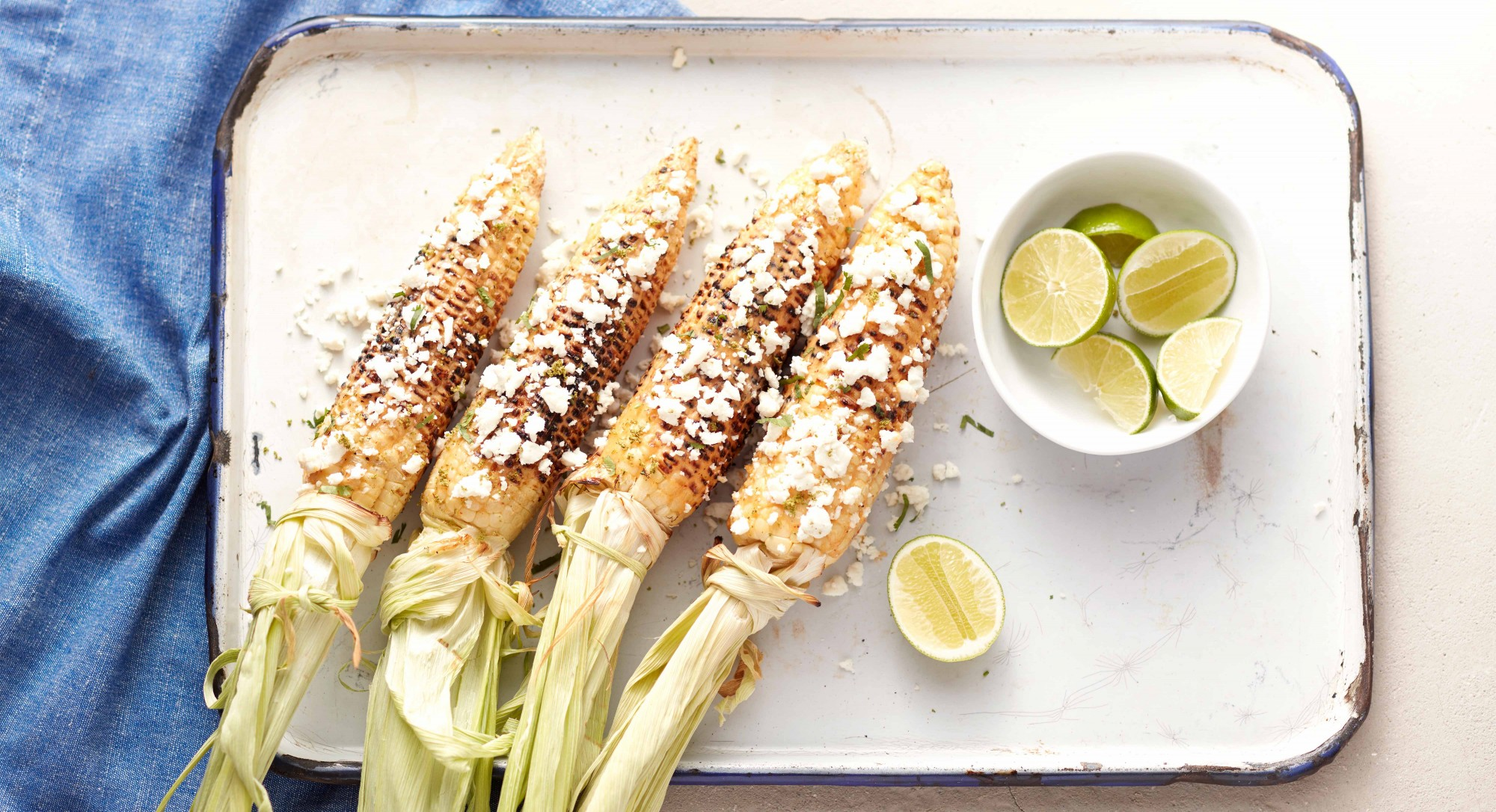 Grilled Corn With Chipotle-Lime Mayonnaise Recipe