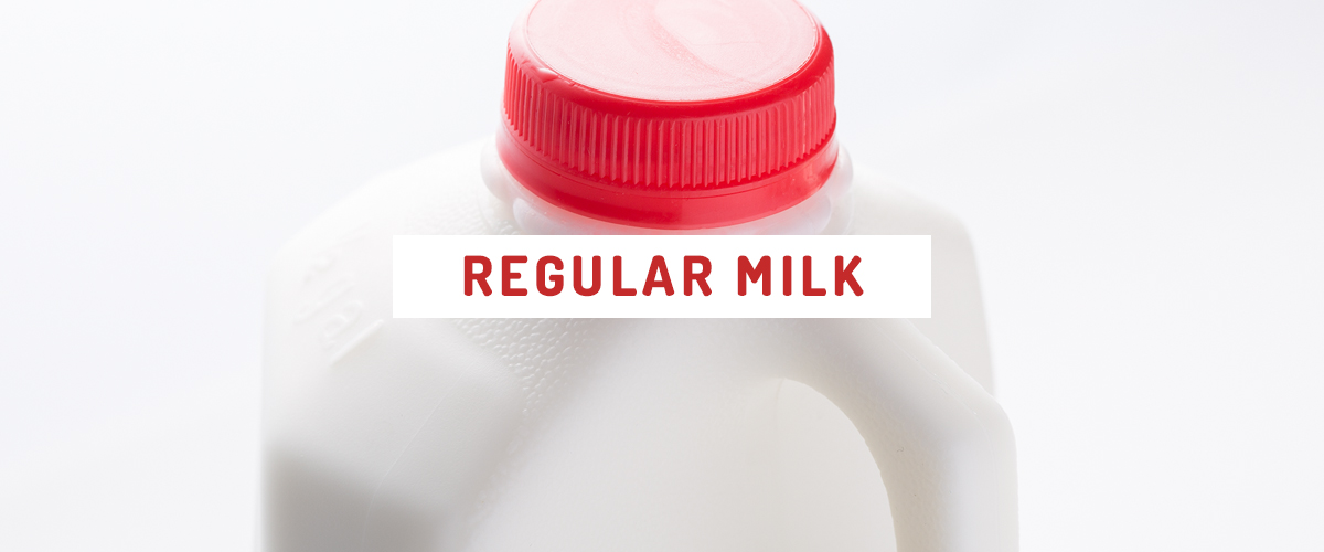 Regular milk