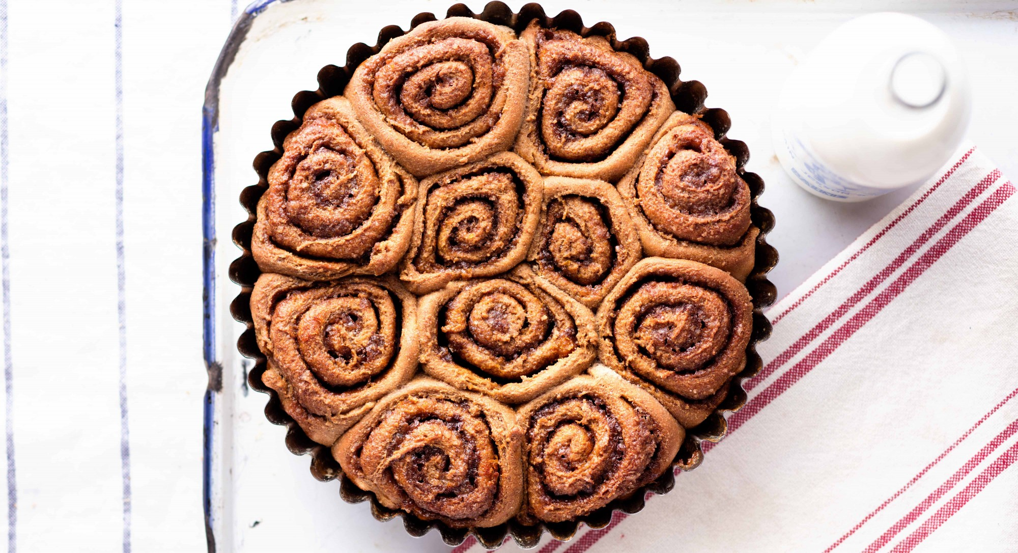 Orange-Molasses Cinnamon Rolls Recipe