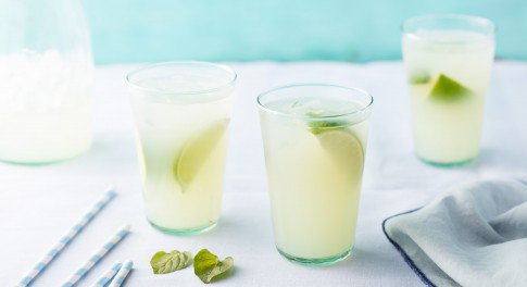 Ginger-Lemongrass Limeade Recipe