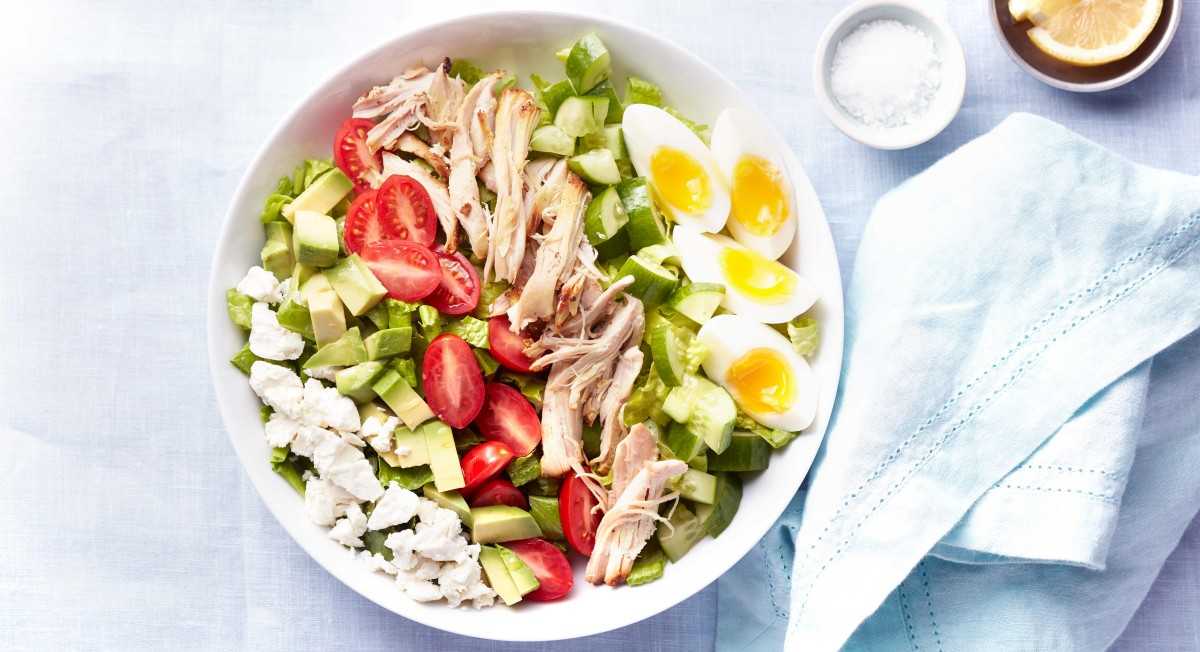 Chicken chopped salad