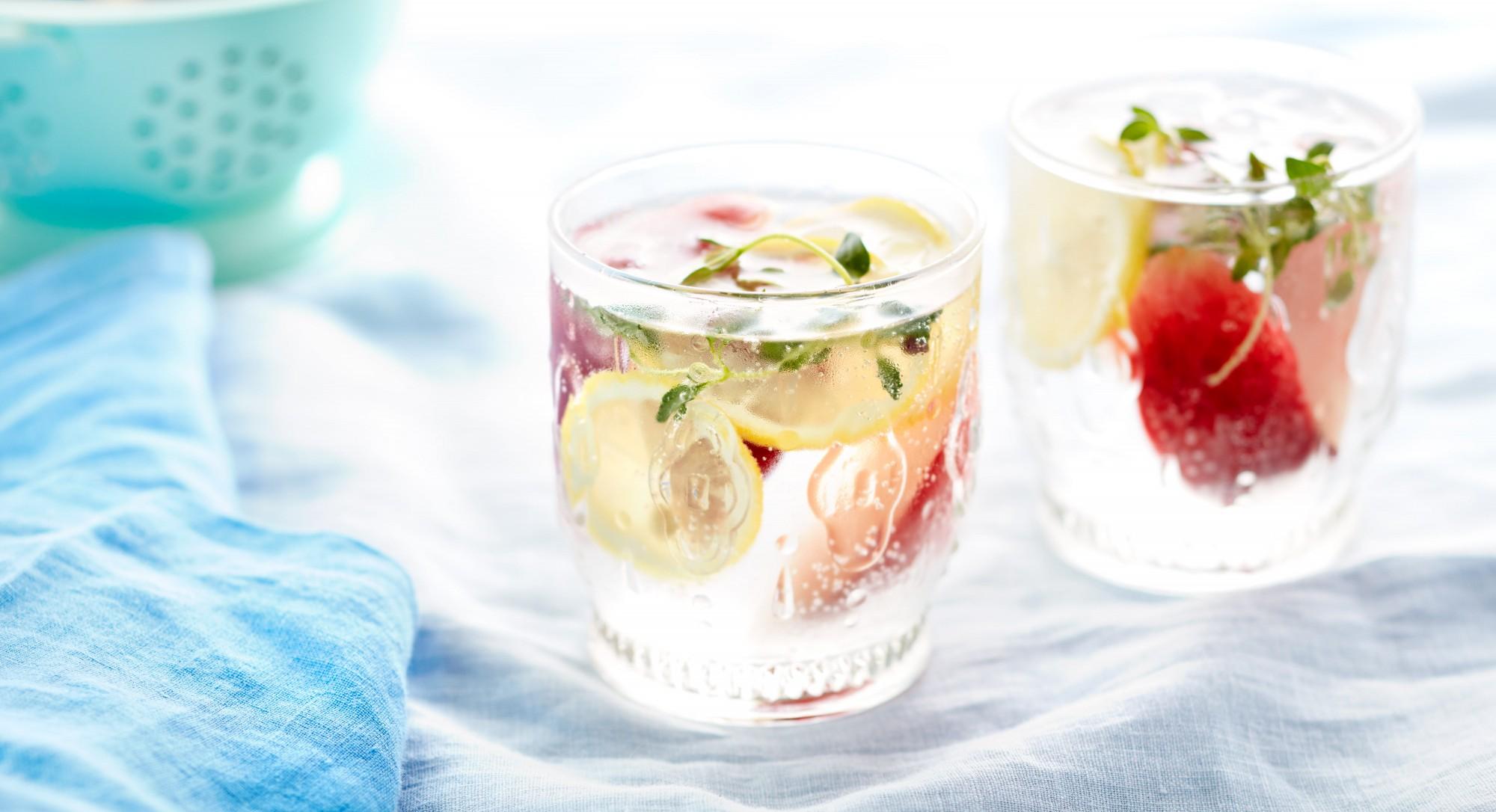 Peach-Thyme Spa Water Recipe