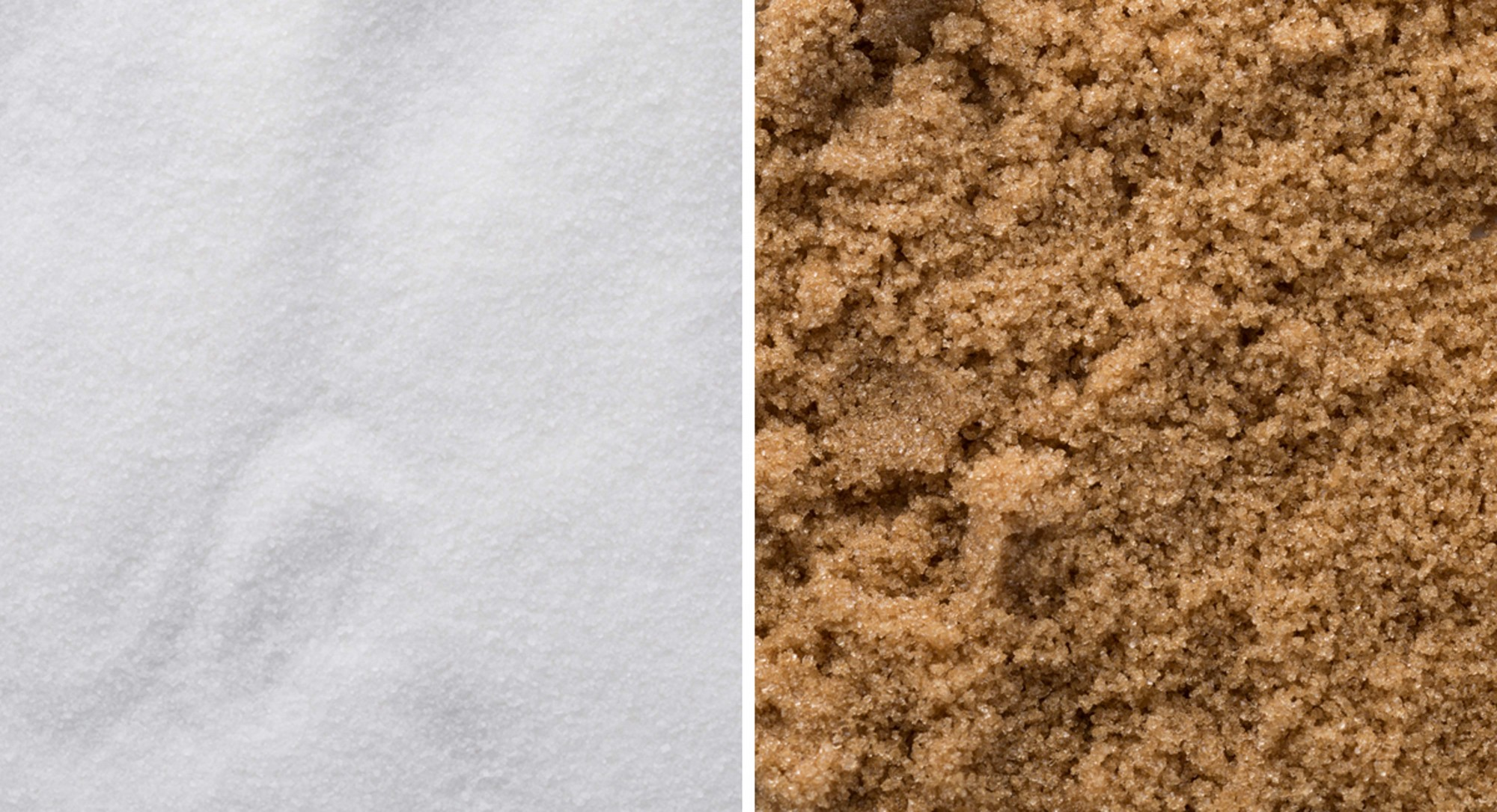 Brown Sugar vs. White Sugar