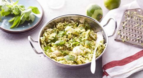 Zucchini and Mozzarella Salad Recipe