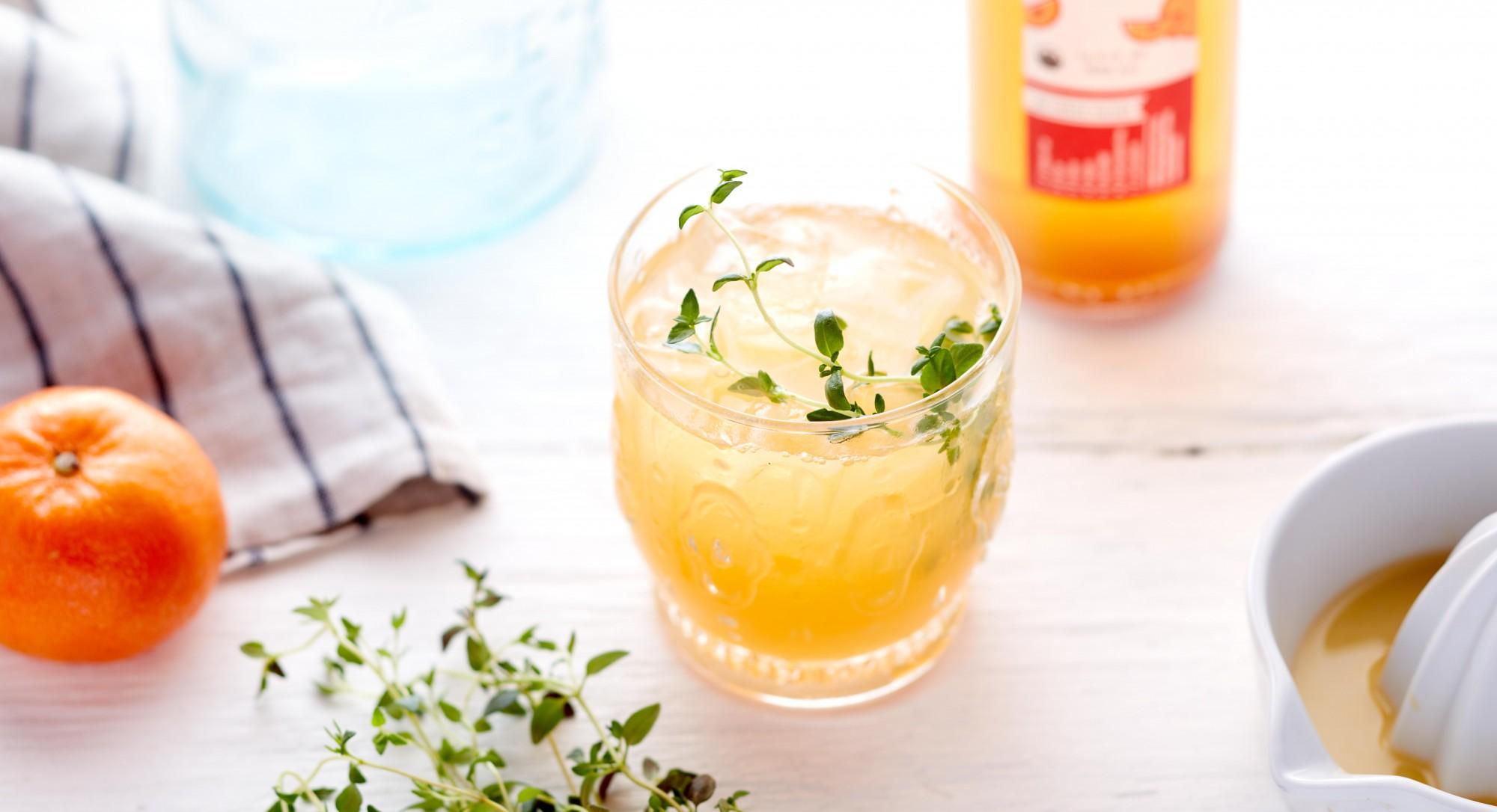 Orange-Thyme Switchel Recipe