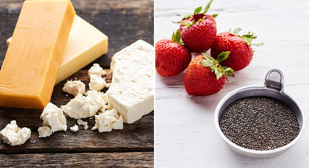 Ate dairy, now eat berries
