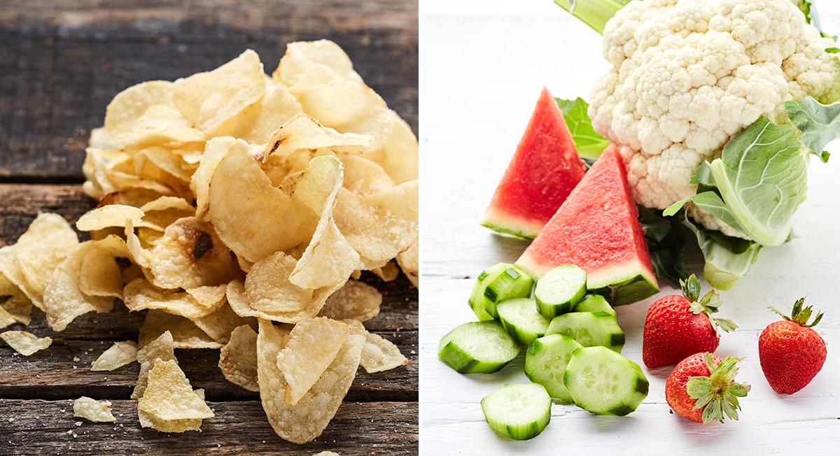 Ate salt, now eat fruits and veggies