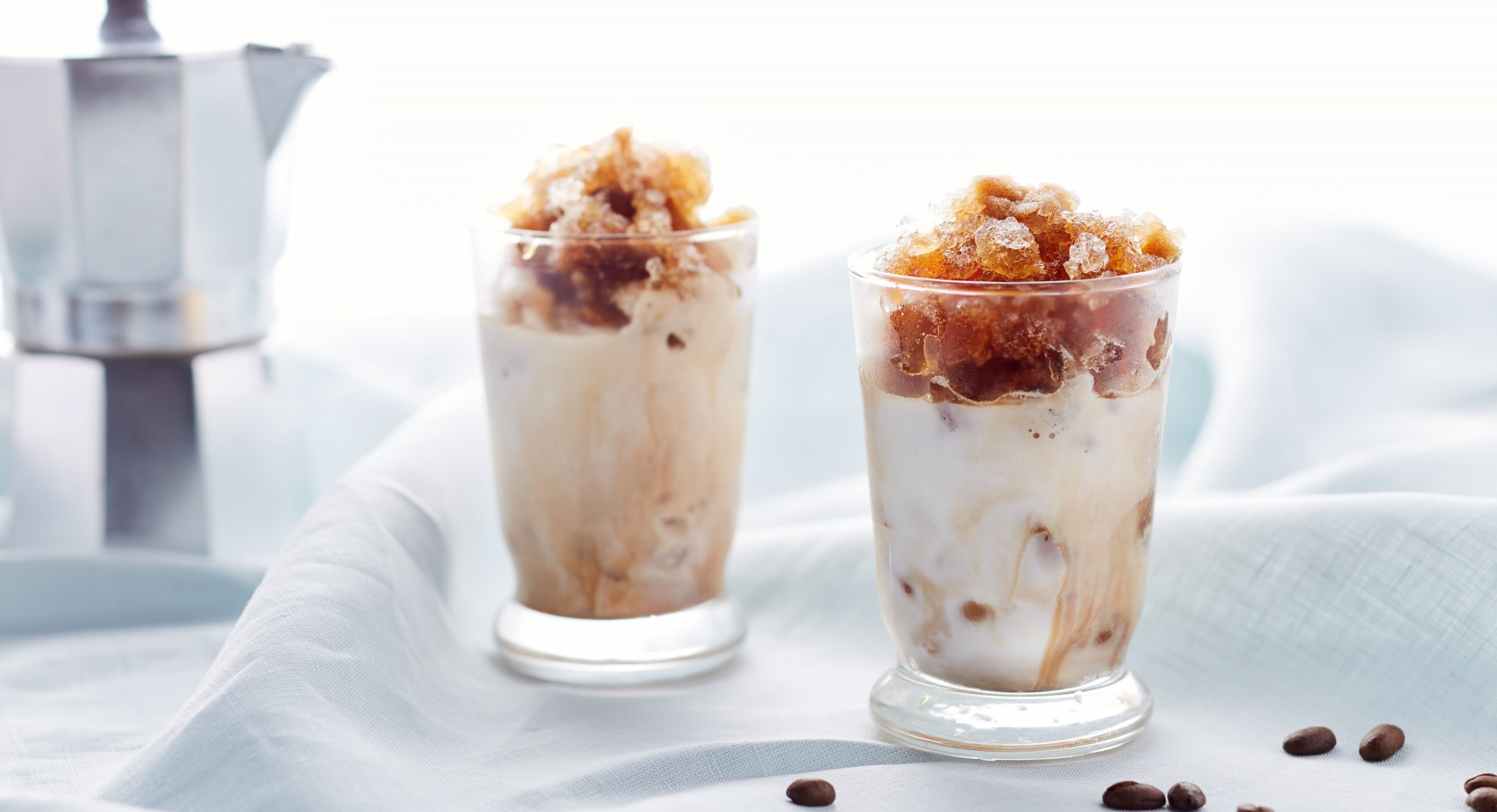 Love Caffeine AND Slushies? The Espresso Granita Is for You