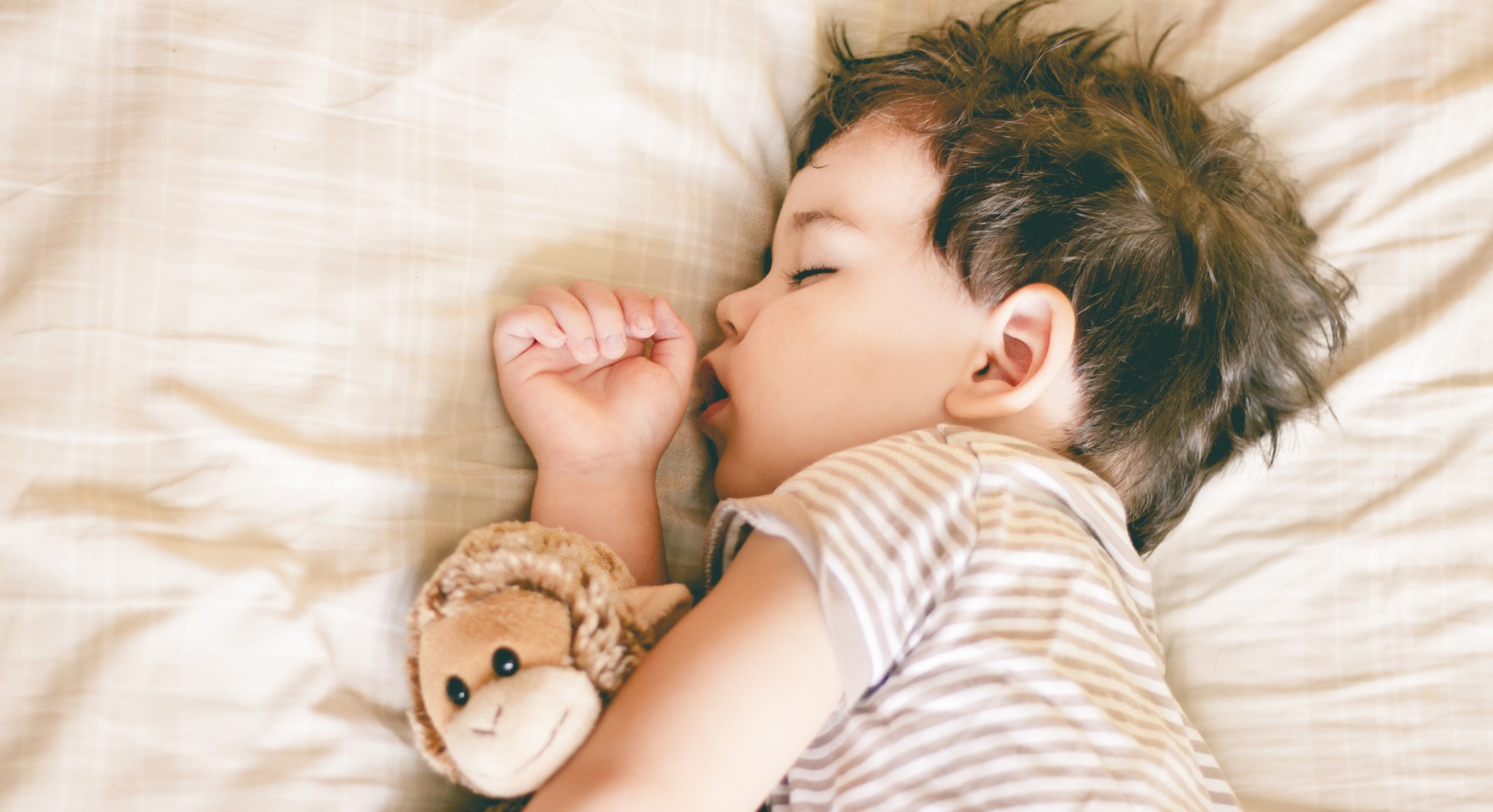 Healthy Sleep Habits and Happy Children