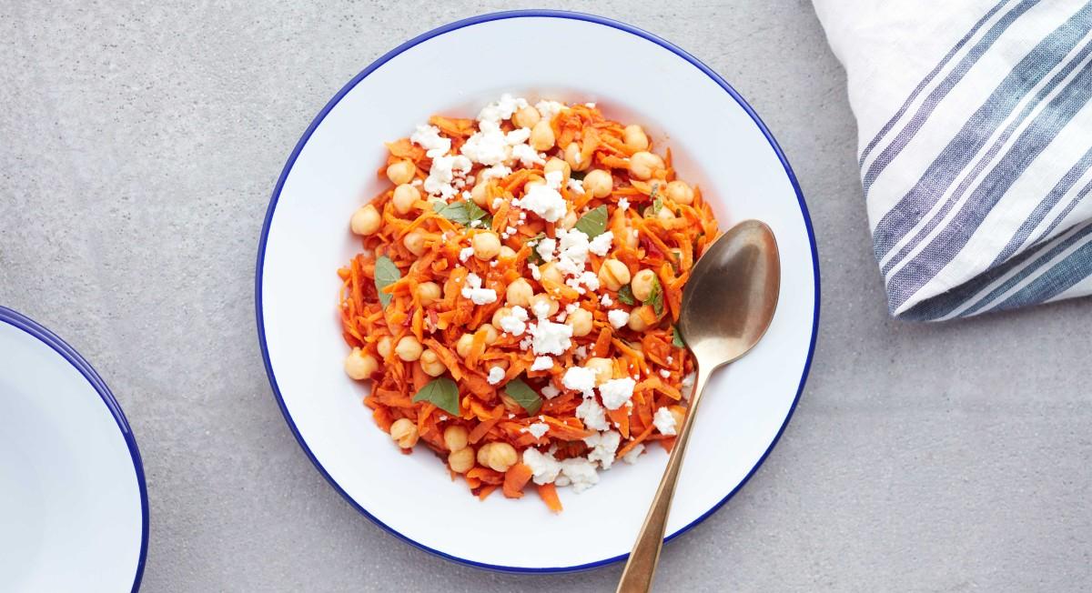 Harissa carrot salad