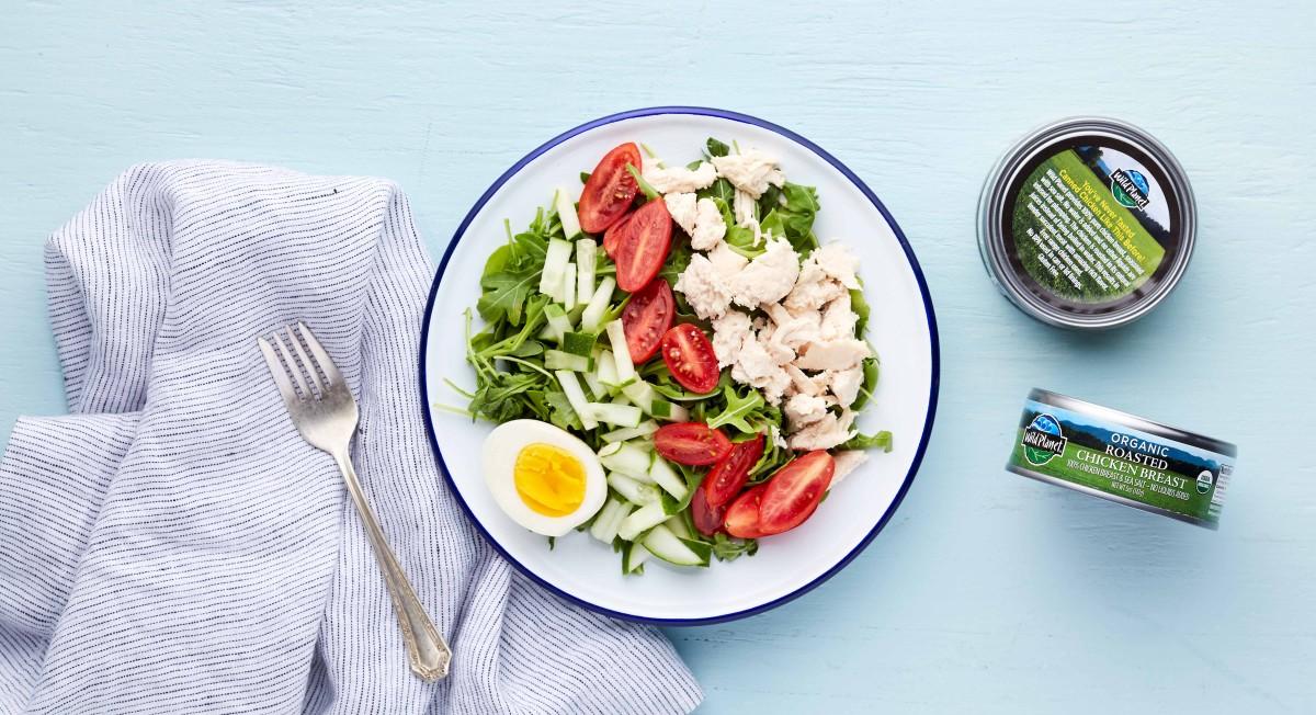 Chicken salad with Wild Planet