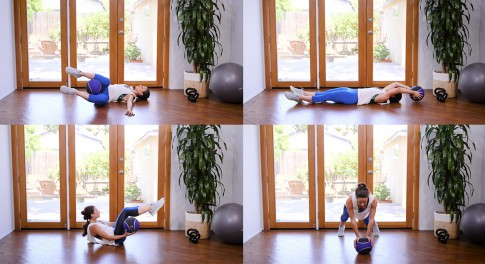 Medicine Ball Ab Workouts: 4 Exercises for Six Pack Abs