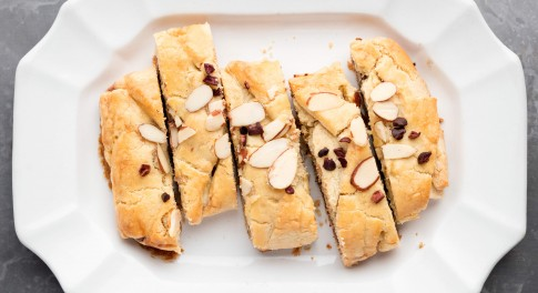 Chocolate-Almond Braid Recipe