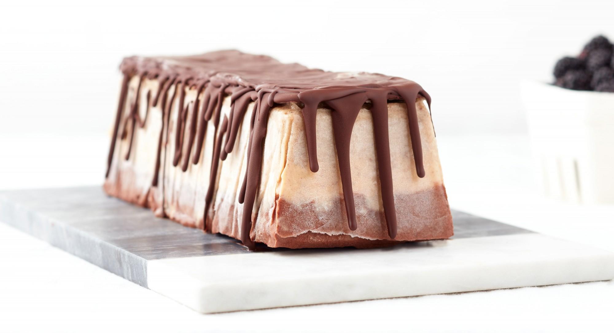 Chocolate-Almond Banana Ice Cream Semifreddo Recipe