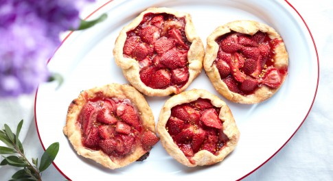 Mini Strawberry Galettes Recipe