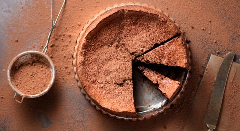 Paleo Chocolate Lava Cake Recipe