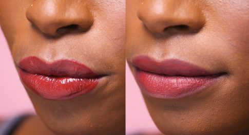 Make Even the Glossiest Lipstick Matte With This Simple DIY Trick