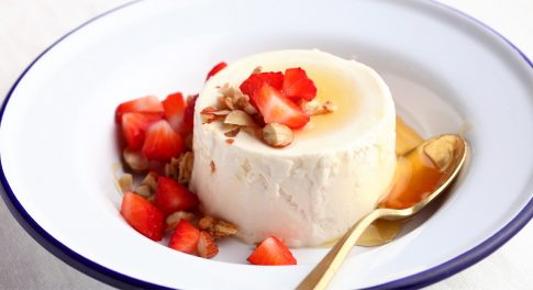 Yogurt Panna Cotta Recipe