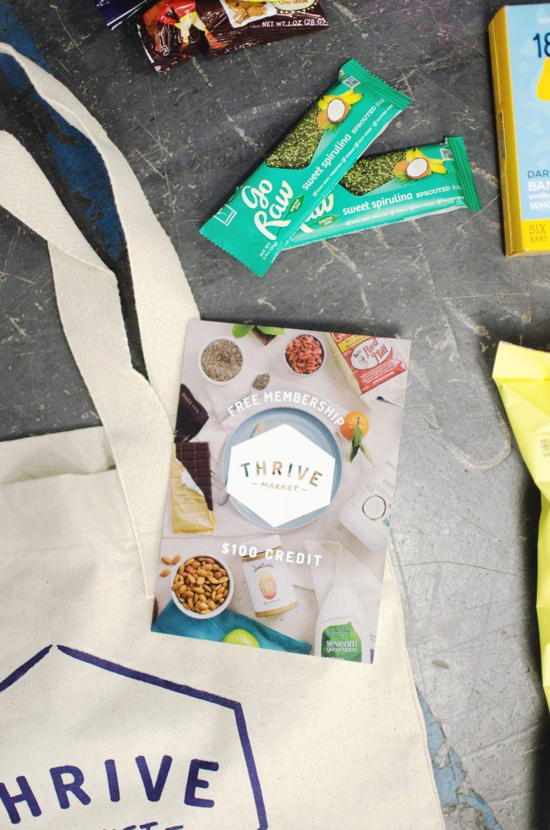 thrive market goodie bags