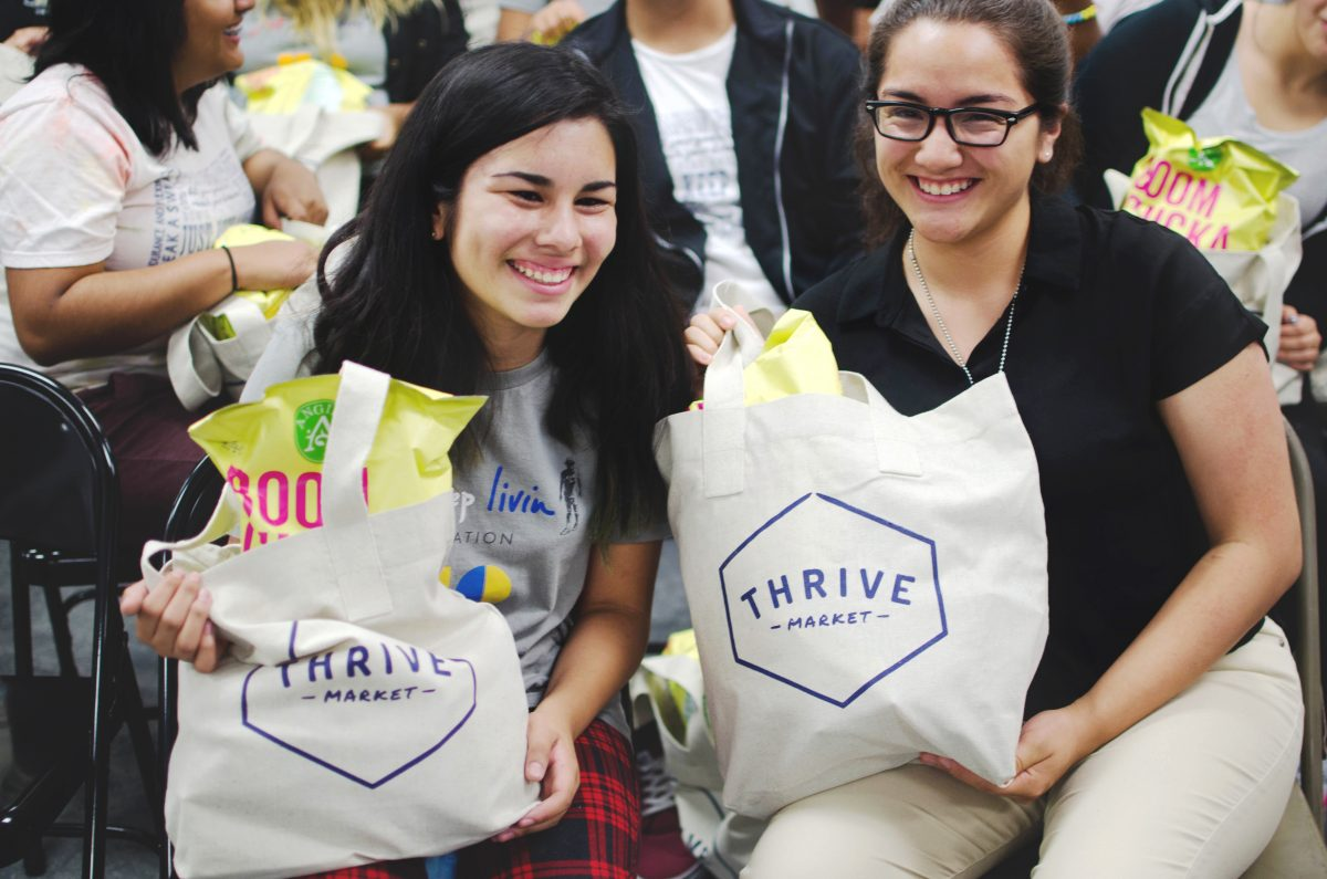 teens thrive market bags