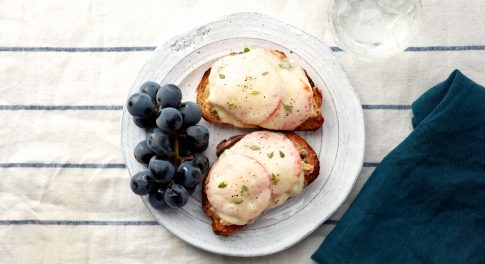 Open-Faced Tuna Melts Recipe