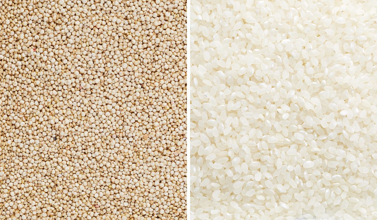 Quinoa Vs. White Rice