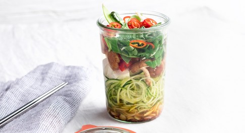 Mason Jar Tom Yum Soup Recipe