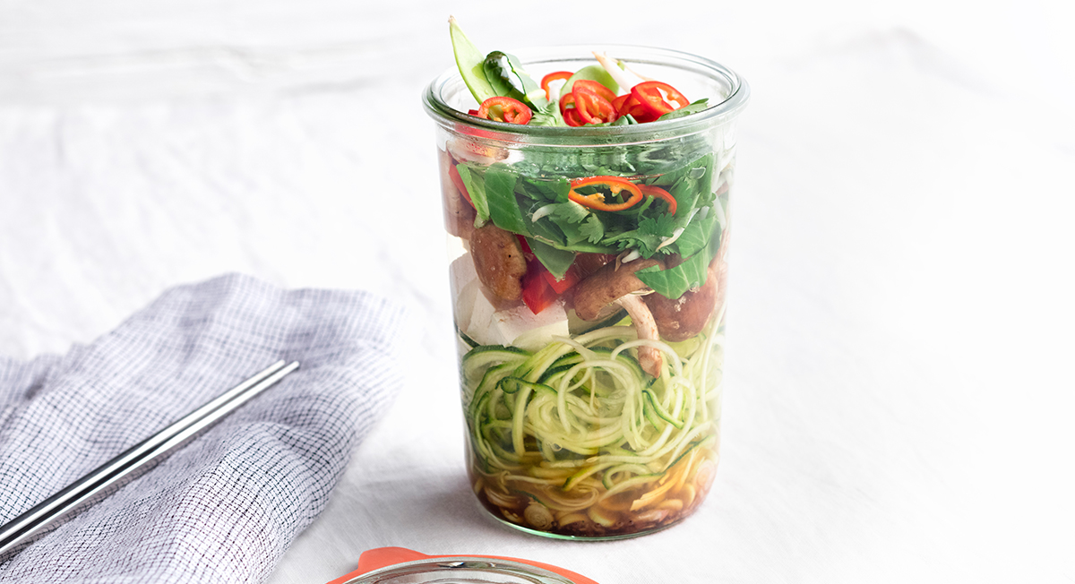 Recipe for Mason Jar Tom Yum Soup