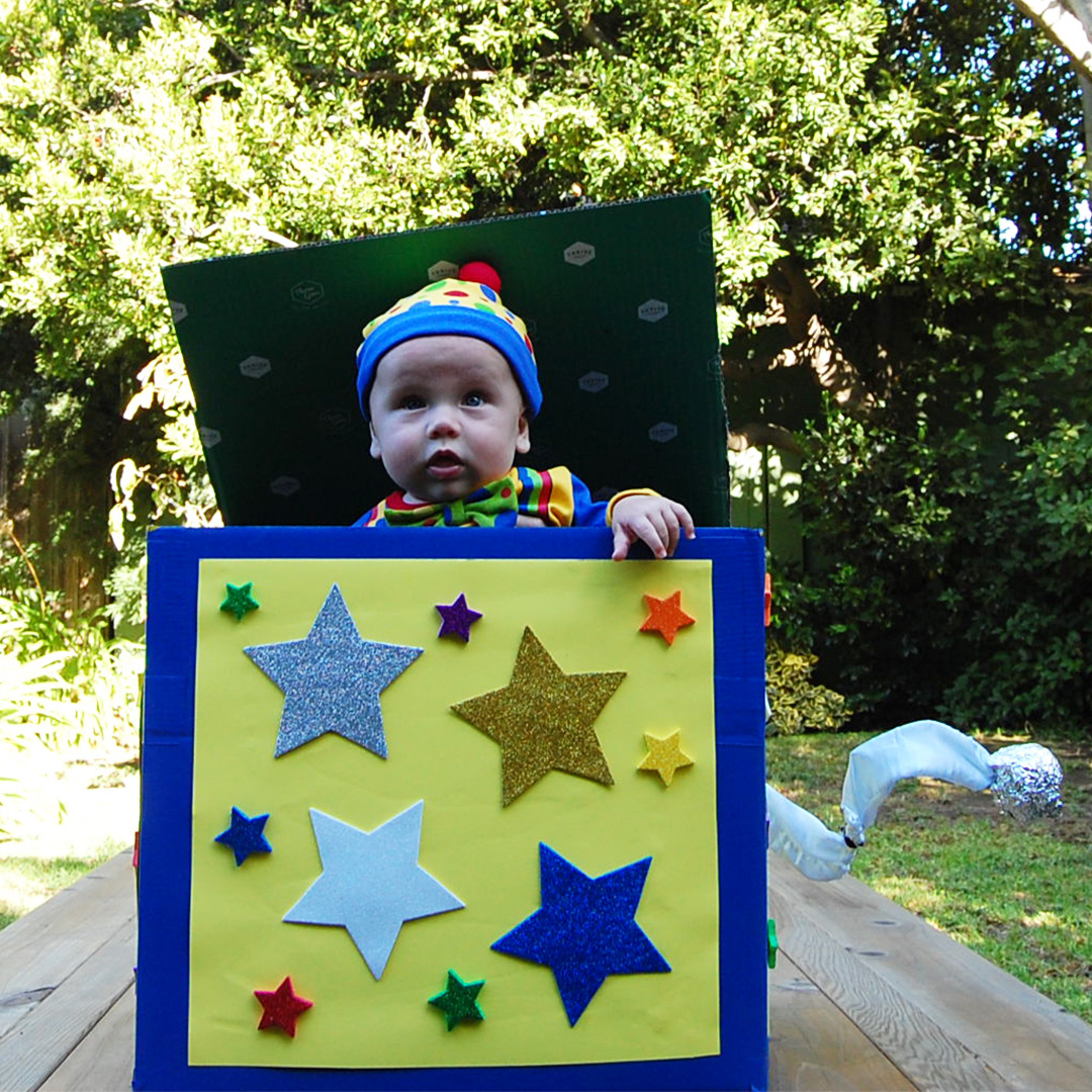jack in box baby costume