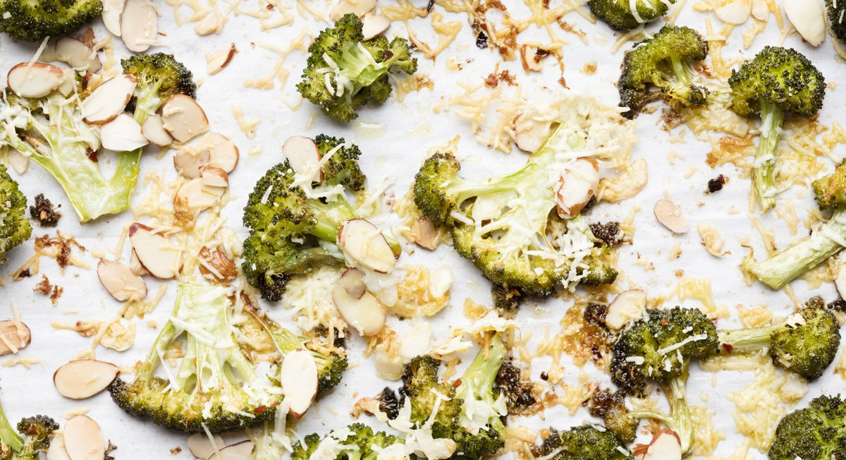 Garlic-Parmesan Roasted Broccoli Recipe