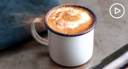 Honey Turmeric Pumpkin Latte Recipe