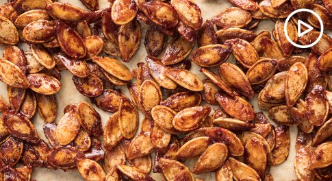 Pumpkin Pie Roasted Pumpkin Seeds Recipe