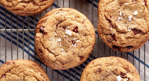Olive Oil Chocolate Chip Cookies Recipe