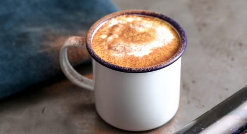 Honey Turmeric Pumpkin Latte Recipe