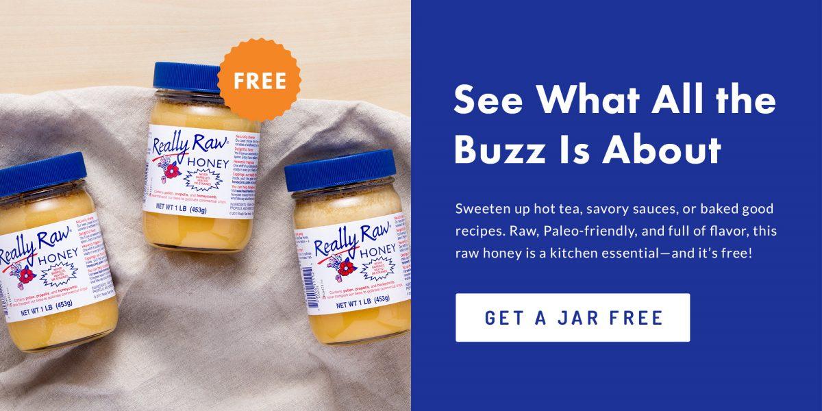 really raw honey free lg