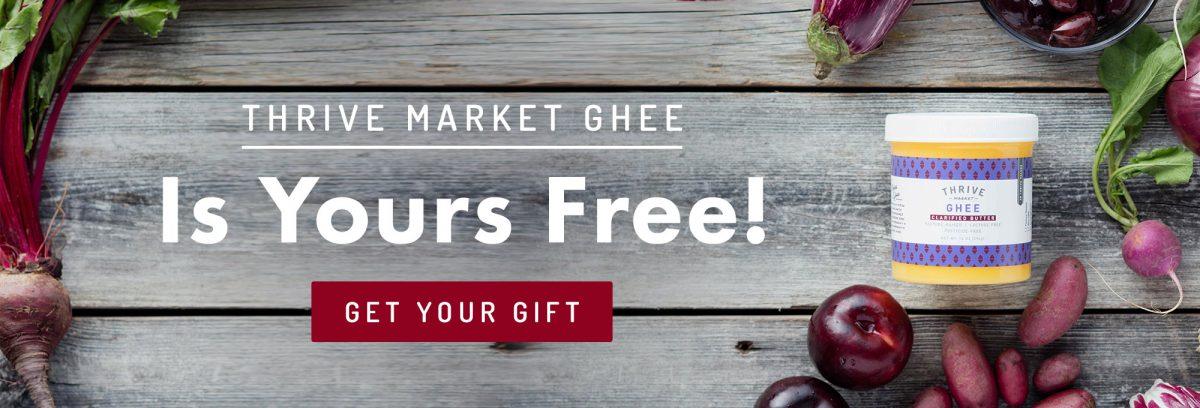 Thrive ghee free sm