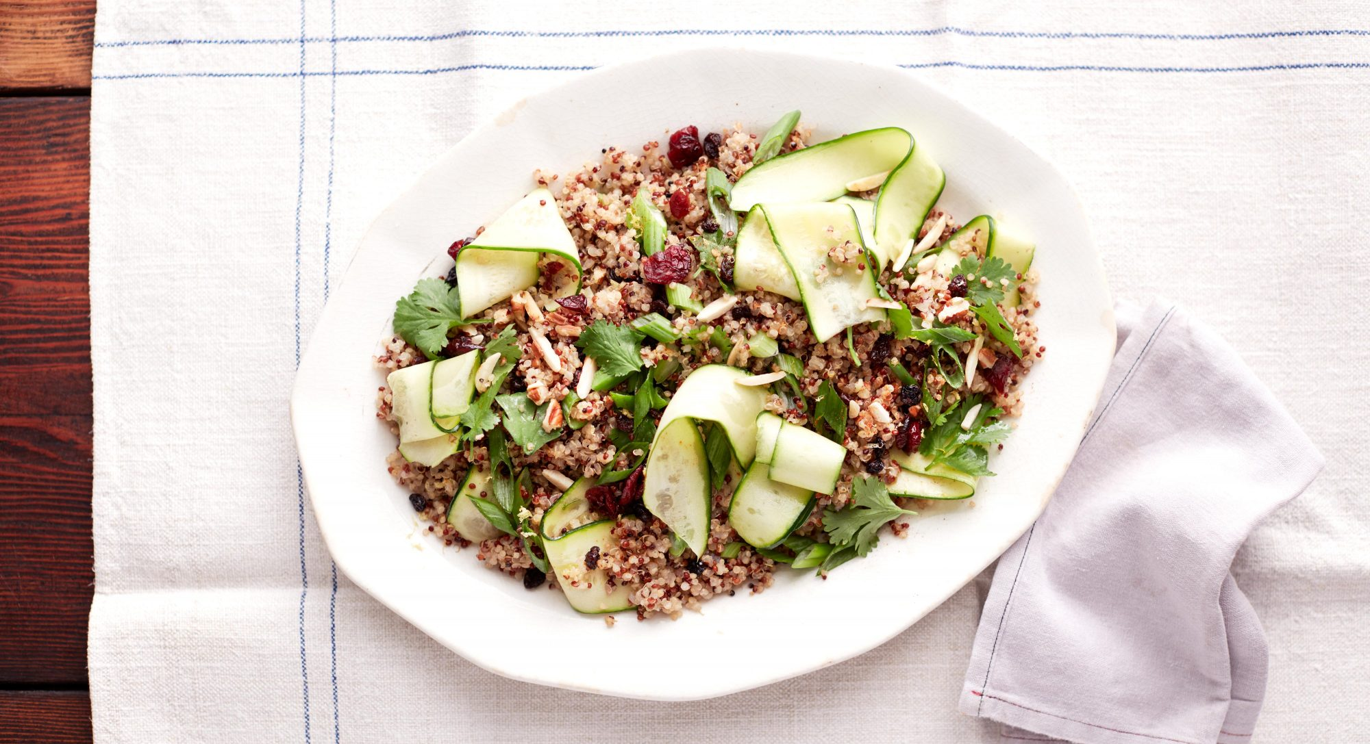 Tri-Colored Quinoa Salad Recipe