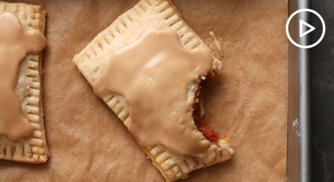 Vegan Pumpkin Hand-Pies With Maple Glaze Recipe
