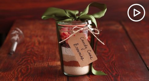 Giftable Brownies In a Jar