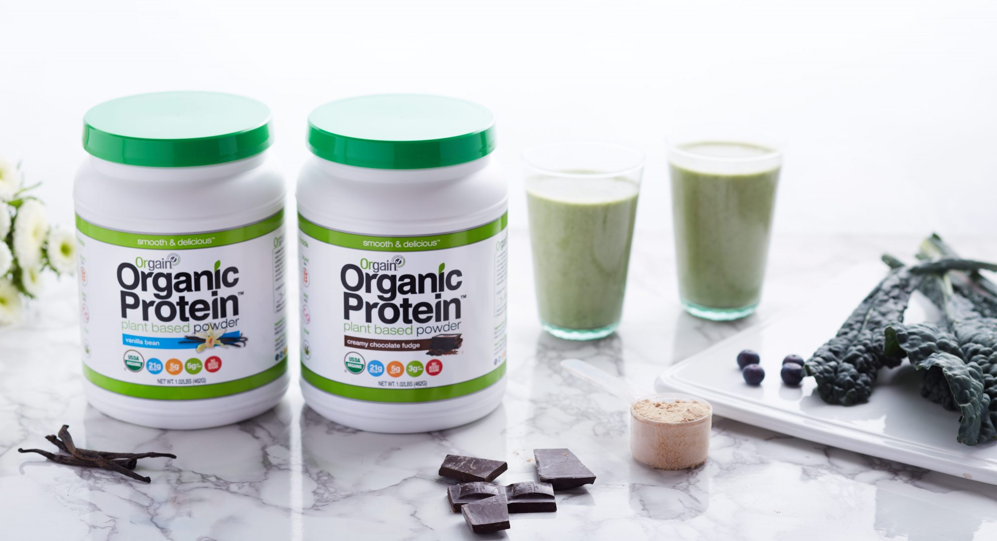 An Easy Way to Power Up Your Morning Smoothie or Short Stack With Plant-Based Protein