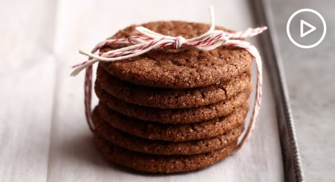 Chewy Molasses-Spice Cookies Recipe