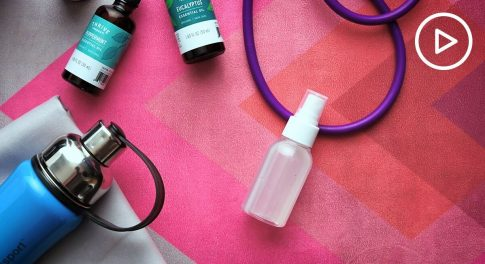 When Was the Last Time You Cleaned Your Yoga Mat? Try This Easy DIY Spray!